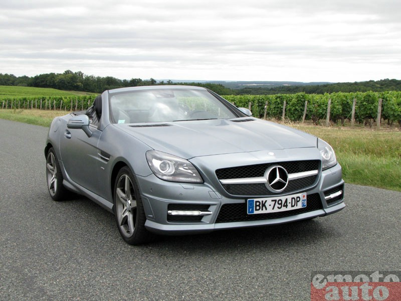 Photo Mercedes SLK 350 modèle 2011