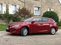 Photo 1 Essai Lexus CT200h 2011