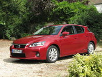 Photo 2 Essai Lexus CT200h 2011