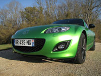 Photo 3 Essai Mazda MX5 2.0 MZR 160 Black by MX5 2011