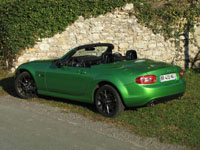 Photo 6 Essai Mazda MX5 2.0 MZR 160 Black by MX5 2011