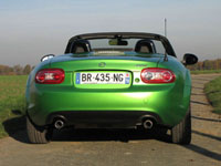 Photo 8 Essai Mazda MX5 2.0 MZR 160 Black by MX5 2011