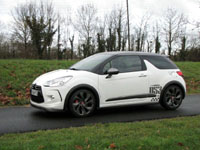Photo 23 Essai Citroën DS3 Racing 2011