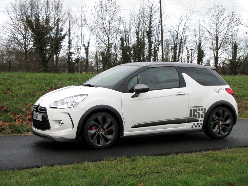 Essai Citroën DS3 Racing 2011 par Jean-Michel Lainé