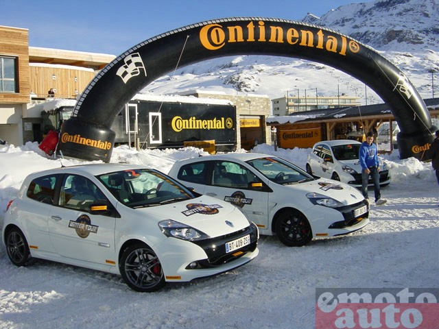 Conti Winter Tour 2011 : Conti Winter Tour 2011 Renault Clio RS