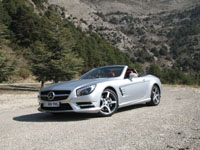 Photo 7 Essai Mercedes SL 500 2012