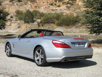 Photo 9 Essai Mercedes SL 500 2012