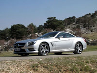 Photo 22 Essai Mercedes SL 500 2012