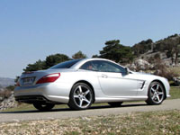 Photo 23 Essai Mercedes SL 500 2012