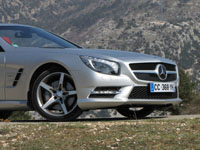 Photo 25 Essai Mercedes SL 500 2012