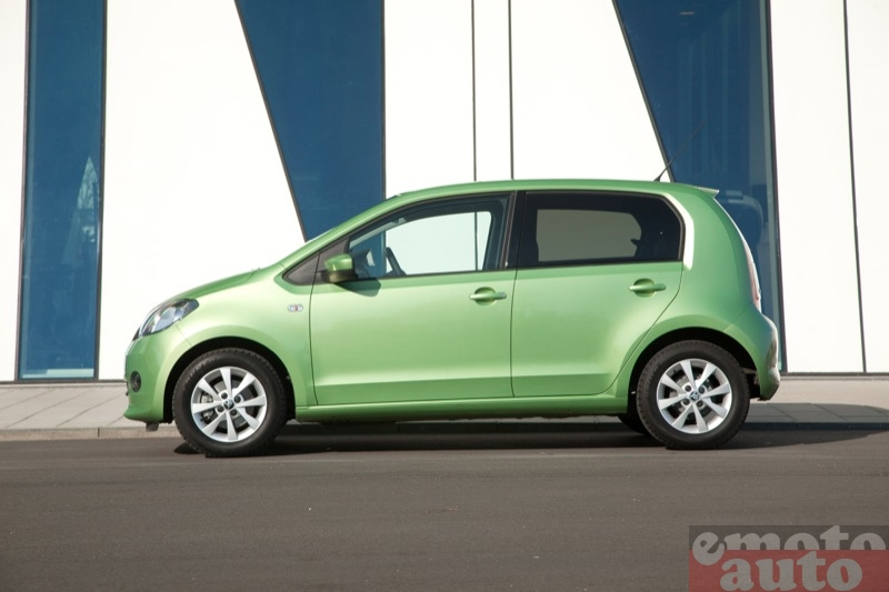 Photo Skoda Citigo 1.0 75 modèle 2012