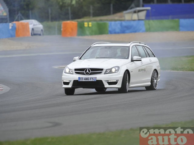 Mercedes AMG Live 2012 � Magny Cours : C63 AMG break