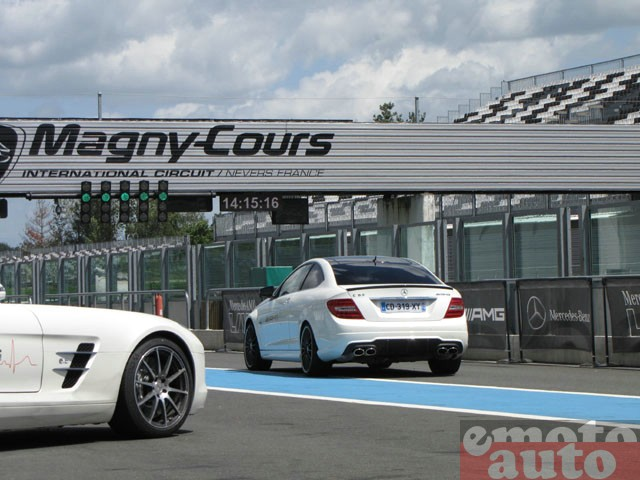 Mercedes AMG Live 2012 � Magny Cours : C63 AMG