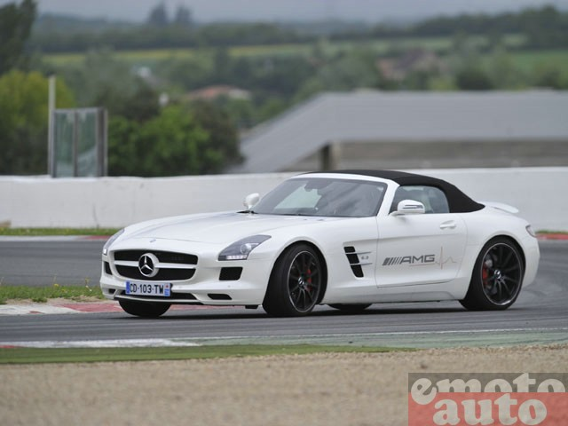 amg live magny cours circuit sls