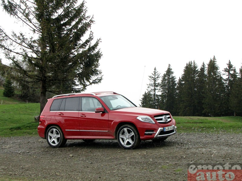 Photo Mercedes GLK 250 BlueTec modèle 2012