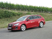 Photo 12 Essai Chevrolet Cruze SW 1.7 VCDI 131 et 1.4 16v 140 2012