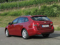Photo 13 Essai Chevrolet Cruze SW 1.7 VCDI 131 et 1.4 16v 140 2012