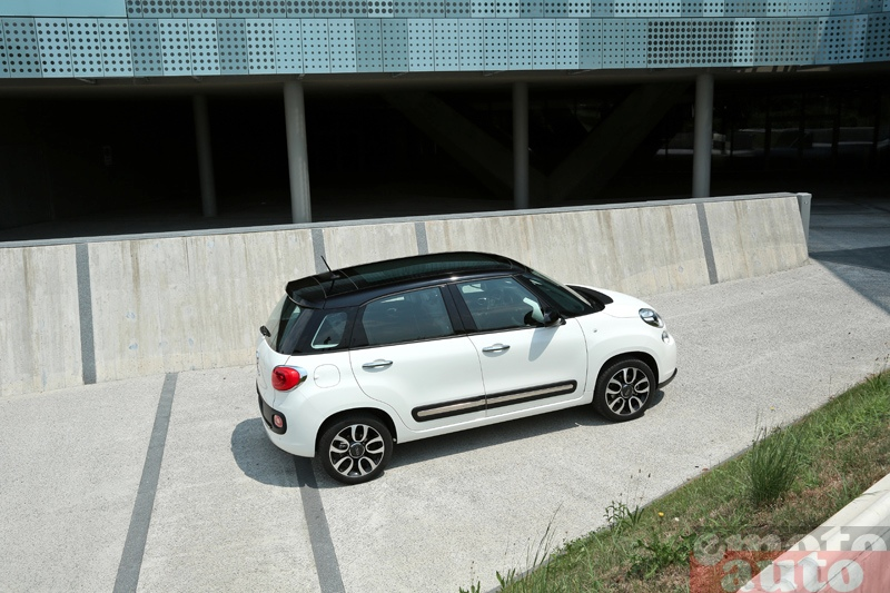 Photo Fiat 500L 1.3 Multijet 85 modèle 2012
