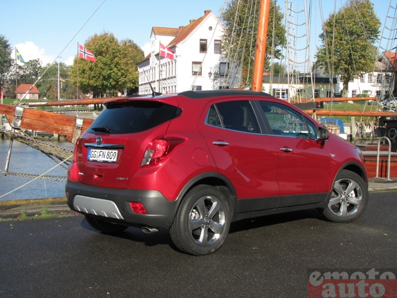 Photo Opel Mokka 1.4 Turbo 4x4 modèle 2013