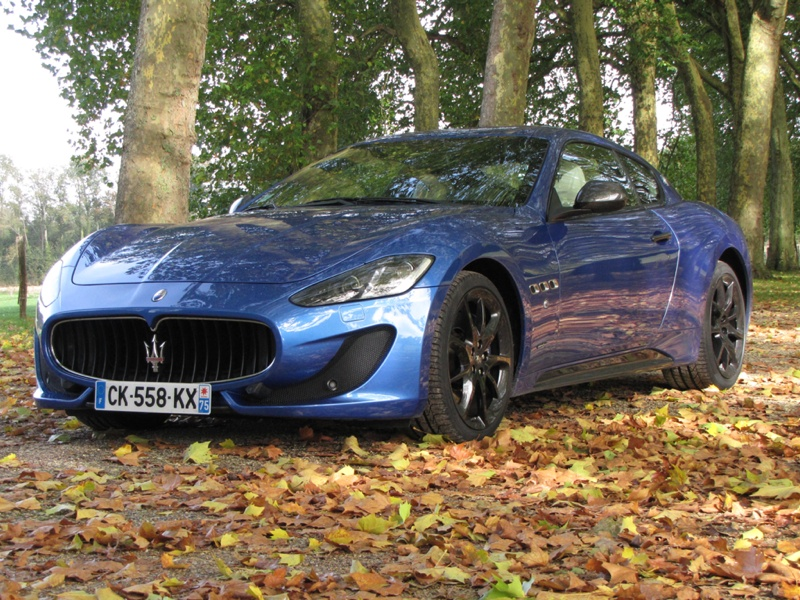 Essai Maserati Gran Turismo Sport 2013 par Jean-Michel Lainé