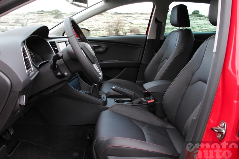 Photo Seat Leon 2.0 TDI 150 modèle 2012