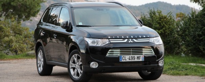 Essai Mitsubishi Outlander 2.2 DiD 150 2012