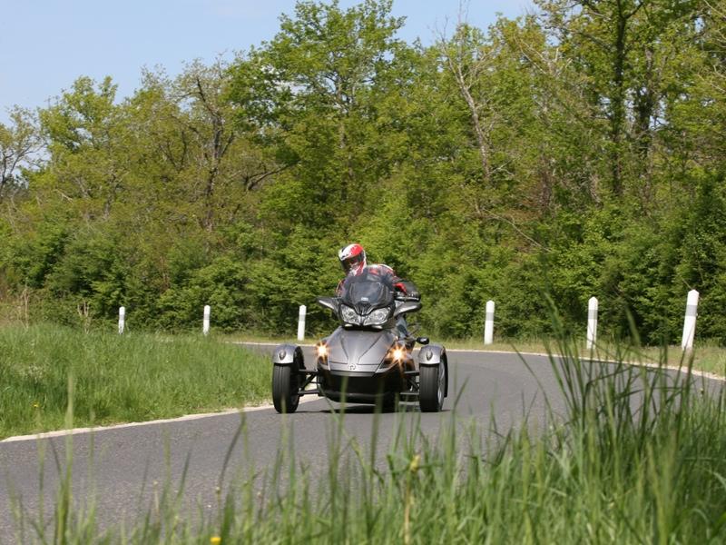 Essai Can-Am Spyder ST SM5 2013 par Jean-Michel Lainé