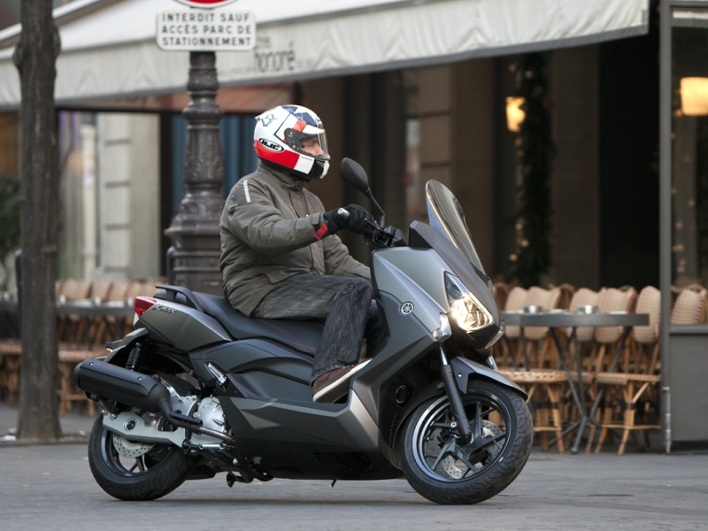 Essai Yamaha X-Max 125 2014 par Jean-Michel Lainé