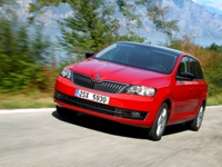Photo 4 Essai Skoda Rapid Spaceback 1.6 TDi 105 BM5 2014