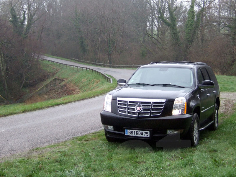 Essai Cadillac Escalade 2008 par Jean-Michel Lainé