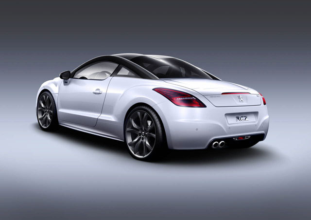 peugeot rcz limited edition dos
